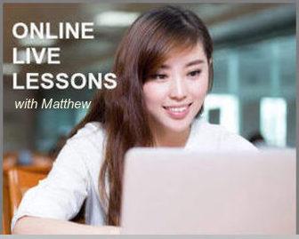 Online Lessons / オンラインレッスン